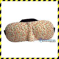 3D очки для сна Silenta (маска для сна), цветочная расцветка!  Супер мягкая., фото 1