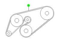 Ремень приводной 6РК-2055 662LA (пр-во SsangYong) 0119971892