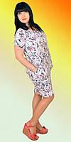 Женское платье в модный цветочный принт
