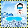 Маска для сна гелевая охлаждающая и согревающая Silenta Gel Mask Blue
