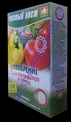Чистый Лист для томатов (помидор) и перцев 1,2 кг (4х300г), фото 2
