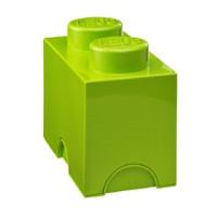 Двухточечный салатовый контейнер для хранения Lego PlastTeam 40021220