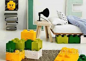 Двухточечный салатовый контейнер для хранения Lego PlastTeam 40021220, фото 3