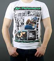 Белая футболка - Размер М,Л,ХЛ,ХХЛ