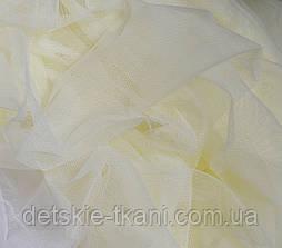 Мягкий фатин кремового (молочного) цвета, ширина 180 см