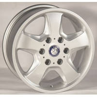 Литі диски Banzai L339 R15 W7 PCD5x130 ET60 DIA84.1 (silver)