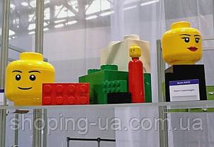 Двухточечный голубой контейнер для хранения Lego PlastTeam 40021736, фото 3