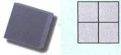 Форма для производства тротуарной плитки «Квадрат Гладкий»
