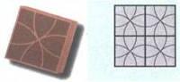 Форма для производства тротуарной плитки «С кругами»