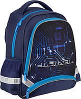 Рюкзак ортопедичекий школьный Kite Digital K16-517S, фото 1