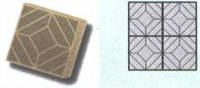 Форма для производства тротуарной плитки «Квадрат»