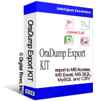 OraDump Export Kit 6.5 (Intelligent Converters)