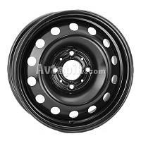 Стальные диски Steel Kapitan R16 W6.5 PCD5x112 ET50 DIA57.1 (black)