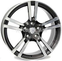Литые диски WSP Italy Porsche (W1054) Saturn R19 W10 PCD5x130 ET61 DIA71.6 (anthracite polished)