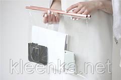 Прозрачное силиконовое покрытие на стол,  изготовления рекламных чехлов, сумок, дождевиков и др, ширина 1,37м, фото 2