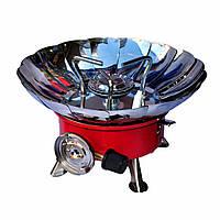Газовая портативная плита-трансформер с лепестками