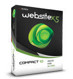 WebSite X5 Compact 10 (Incomedia)