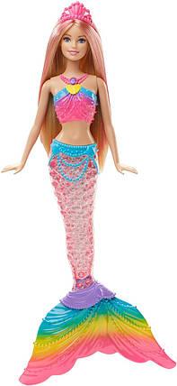 Кукла Барби Русалочка Яркие огоньки Barbie Rainbow Lights Mermaid Doll, фото 2