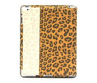 Чехол-книжка Nuoku LEO stylish leather case iPad 3 Brown