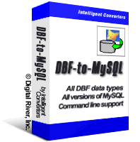 DBF-to-MySQL 3.5 (Intelligent Converters)