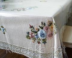 Прозрачное покрытие для кухонных столов и другой мебели, прозоре покриття, м'яке скло, фото 3