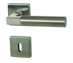 Італійська дверна ручка з н/ж сталі Almar ALASKA SQUARE