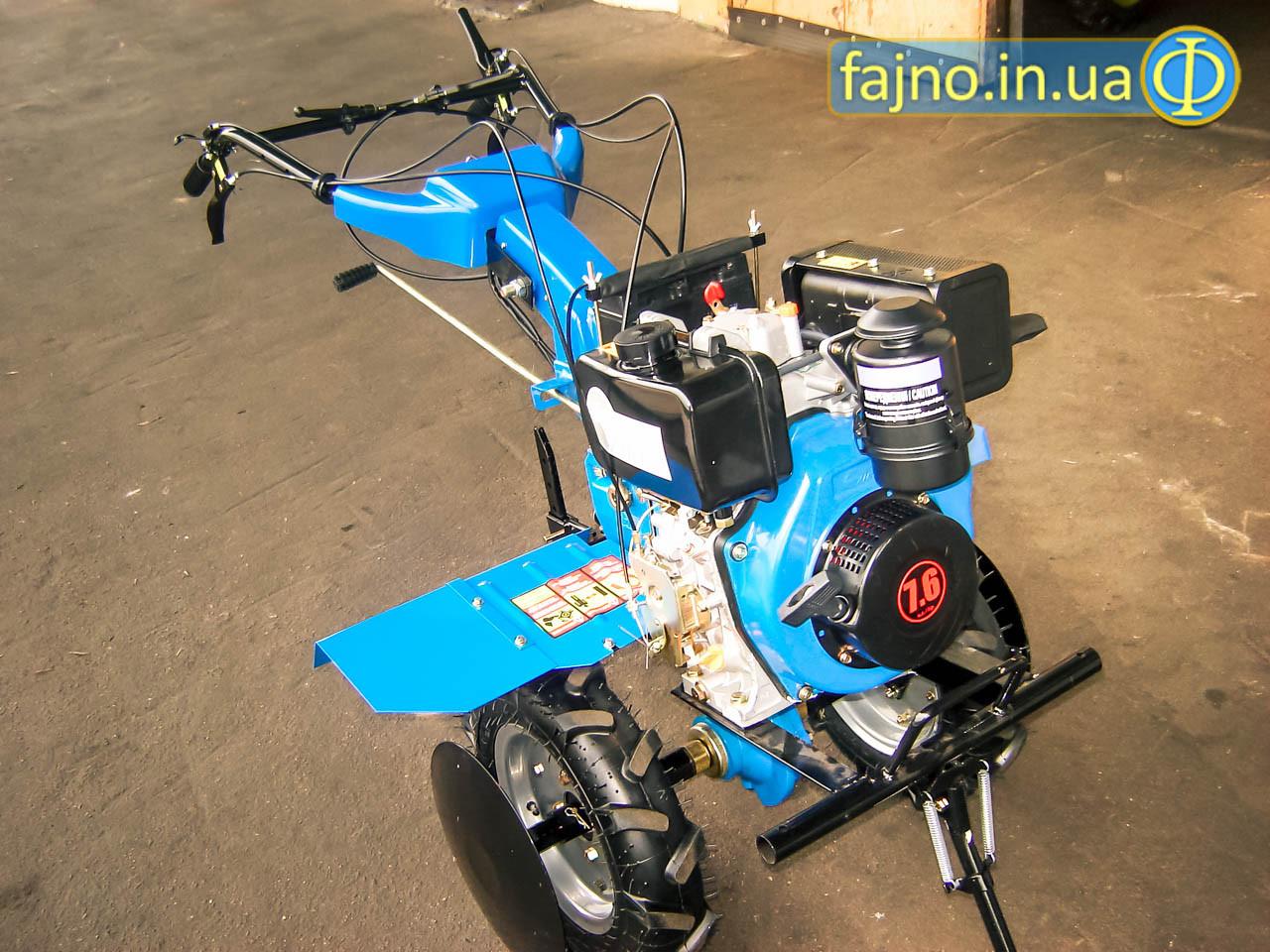 Дизельный мотоблок Zirka GT76DE (7,6 л.с., стартер)