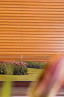 Жалюзи горизонтальные Бамбук 25 Черешня Фри производство под заказ в Одессе