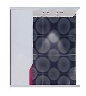 Зеркальный шкаф Альфа ТЕХНО Z1-60 розовый R, фото 1