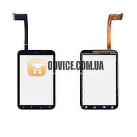 Тачскрин (сенсор) HTC A510e Wildfire S G13, цвет черный, ревизия 3