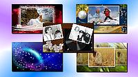 Зимняя коллекция шаблонов слайд-шоу