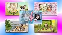Весенняя коллекция шаблонов слайд-шоу