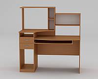 """Небольшой компьютерный стол с надстройкой """"Комфорт - 4"""", фото 1"""