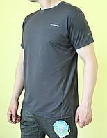 Мужская футболка Columbia 6579-610 серая код 0126В