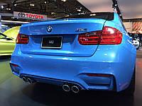 Спойлер сабля тюнинг BMW F30 стиль M3