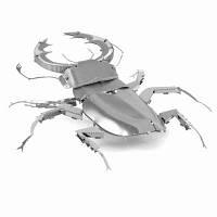 3D пазл металлический «Жук-олень», фото 1
