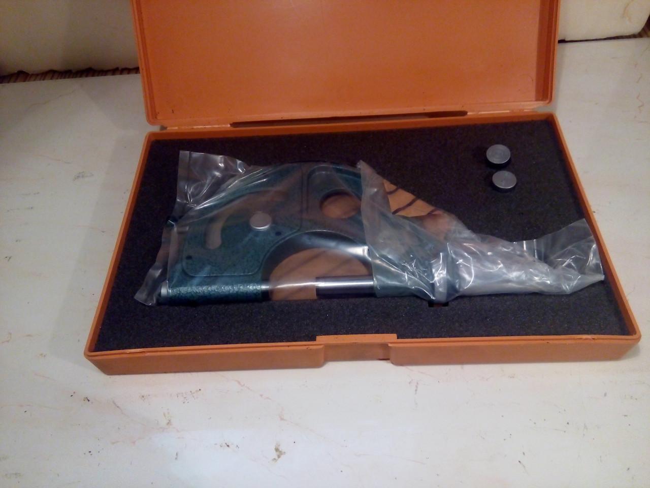 Скоба рычажная 25-50 Mitutoyo(Япония)мод 523-102 возможна калибровка в Укрцсм, фото 1