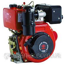 Дизельный двигатель WEIMA WM188FBЕ 12 лс (вал шлицы или шпонка с электростартером)