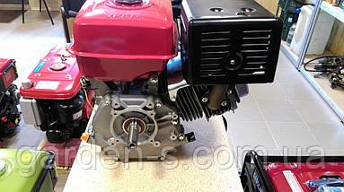 Бензиновый двигатель WEIMA WM190F-S2P NEW 16 лс (вал 25 мм шпонка + Шкив 2 ручья), фото 2