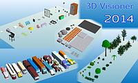 3D Visioner 2014 FlyView — Постоянная лицензия (Сампо)