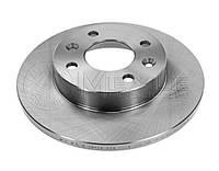 Передний тормозной диск на Renault Logan диам. 259 мм 2004-->2013 Meyle (Германия) 16-15 521 0005