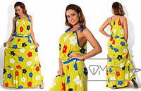 Летнее платье-сарафан БАТ 220 (Коста-Рика)