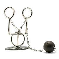 Головоломка Волшебное кольцо металл