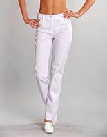 Однотонные женские медицинские штаны разных расцветок (коттон)
