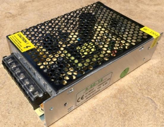 Блок питания R-80-12 80 Вт 6.5A IP20 PREMIUM (перфорированный) Код.58669, фото 2