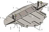 Захист картера двигуна і кпп Kia Sportage IV 2015-, фото 6