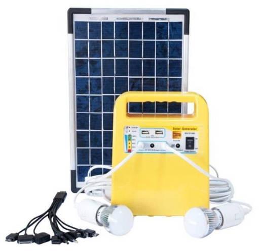 Портативная мини солнечная станция освещения EverExceed SHS-107R