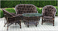 Комплект мебели из ротанга Casablanka brown!, фото 1
