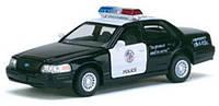 Kinsmart Ford Crown Victoria Police , метал, инерц