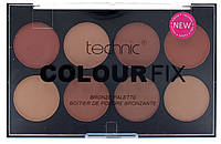 Палитра бронзирующей пудры 8 оттенков Technic Colour Fix Bronze Palette
